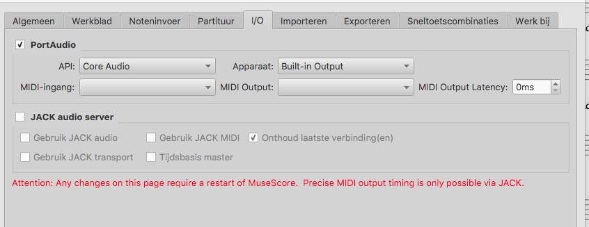 No sound after upgrade to High Sierra (Mac) | MuseScore