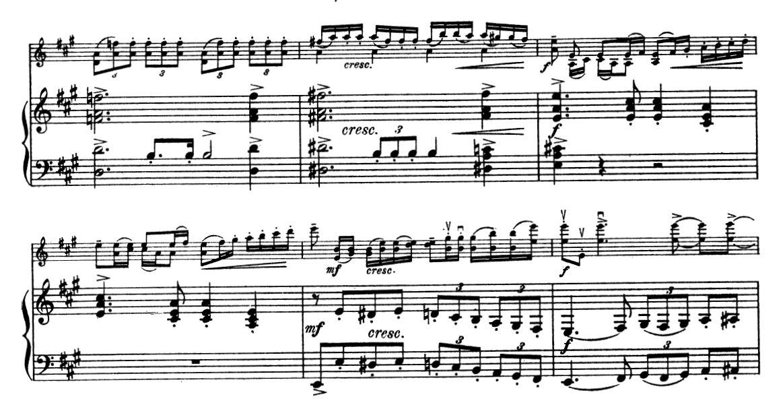 Weird violin chords? | MuseScore