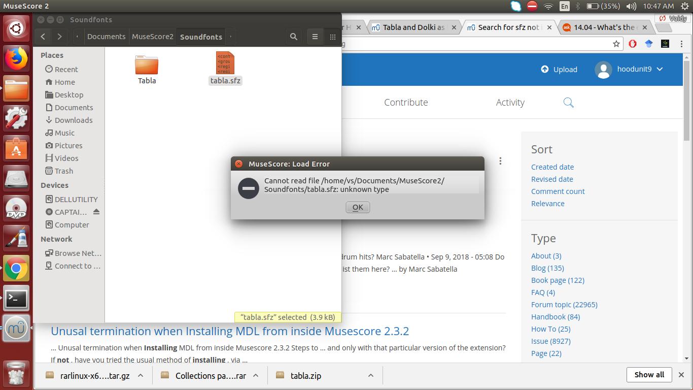 SFZ file not working | MuseScore
