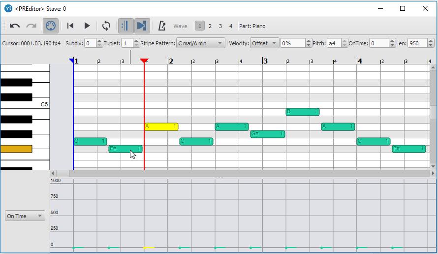 Piano Roll Editor | MuseScore