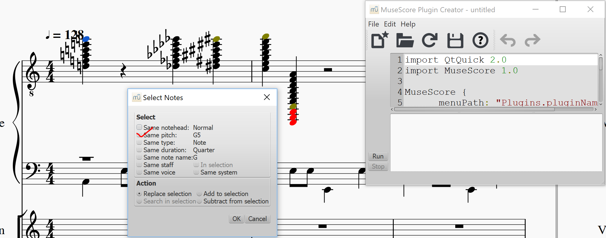 Score mirroring in right-to-left languages   MuseScore