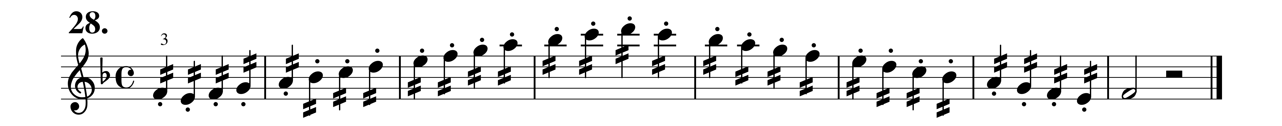 how to make notes staccato in musescore