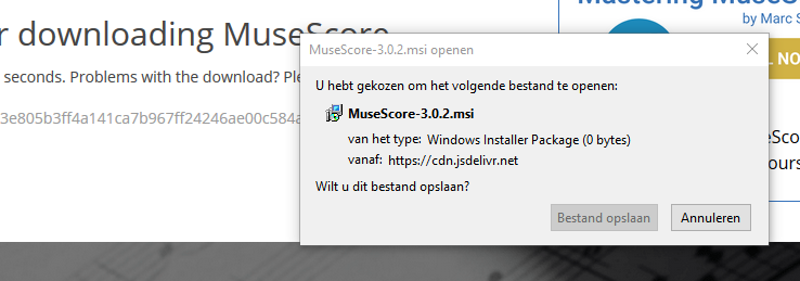 Update 3 0 2 will not load by windows installer | MuseScore