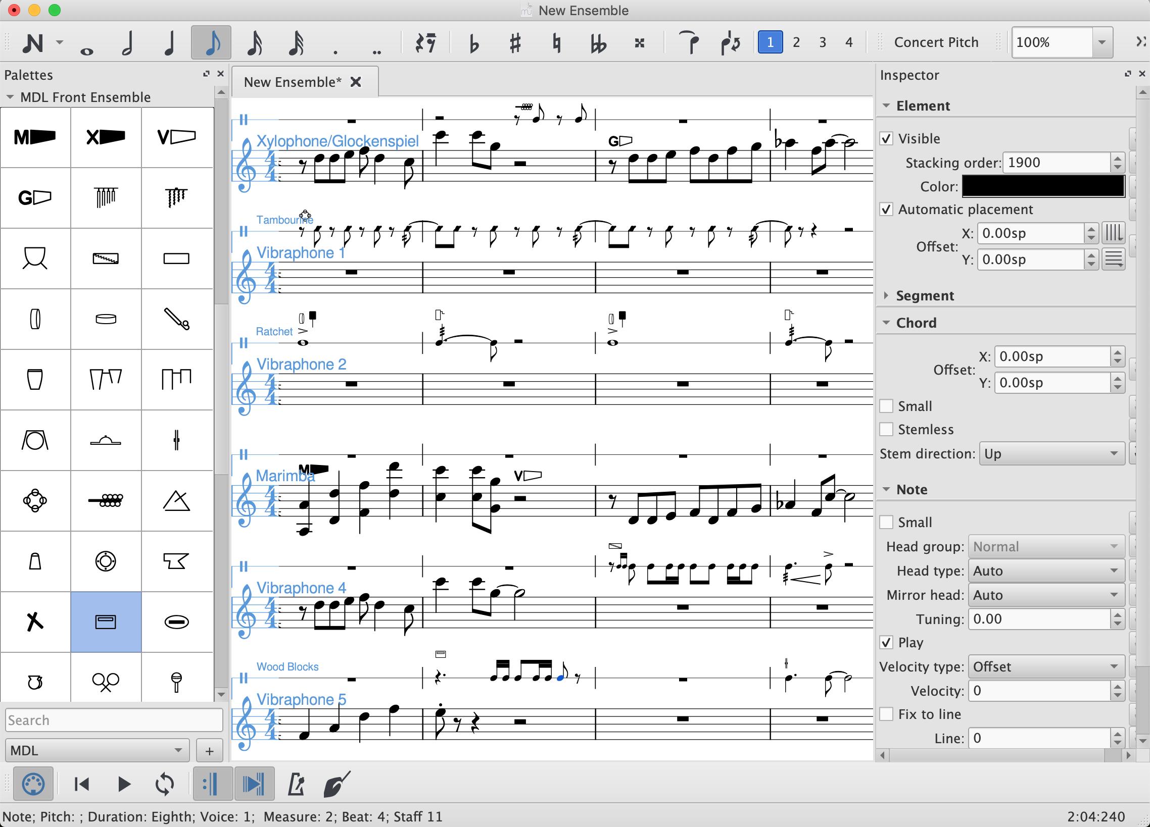 MuseScore Drumline - Using MDL Rails | MuseScore