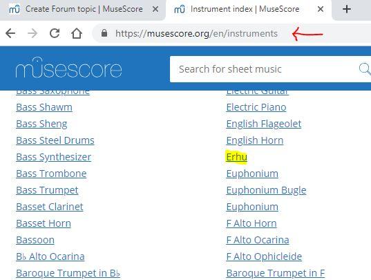 Musescore Soundfonts