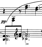 Question about cross staff in piano score | MuseScore