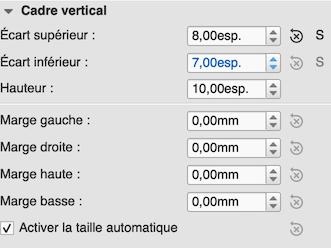 Inspector for vertical frame