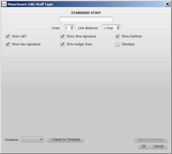 Advanced staff type properties - Normal