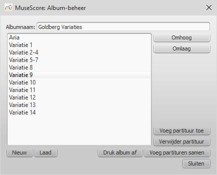 Album Beheer