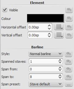 Barline inspector