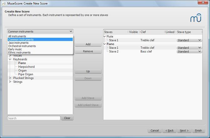Cr er une nouvelle partition musescore for Ouvrir une nouvelle fenetre html