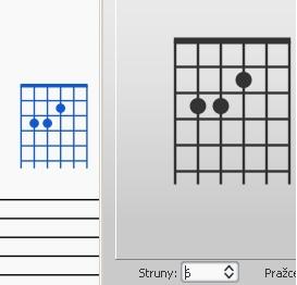 Fretboard diagram - step 1