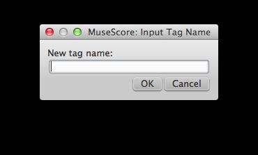 Input tag name