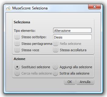 Dialog: Select / More...