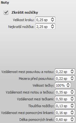 Dialog: Styl/Obecné.../Noty