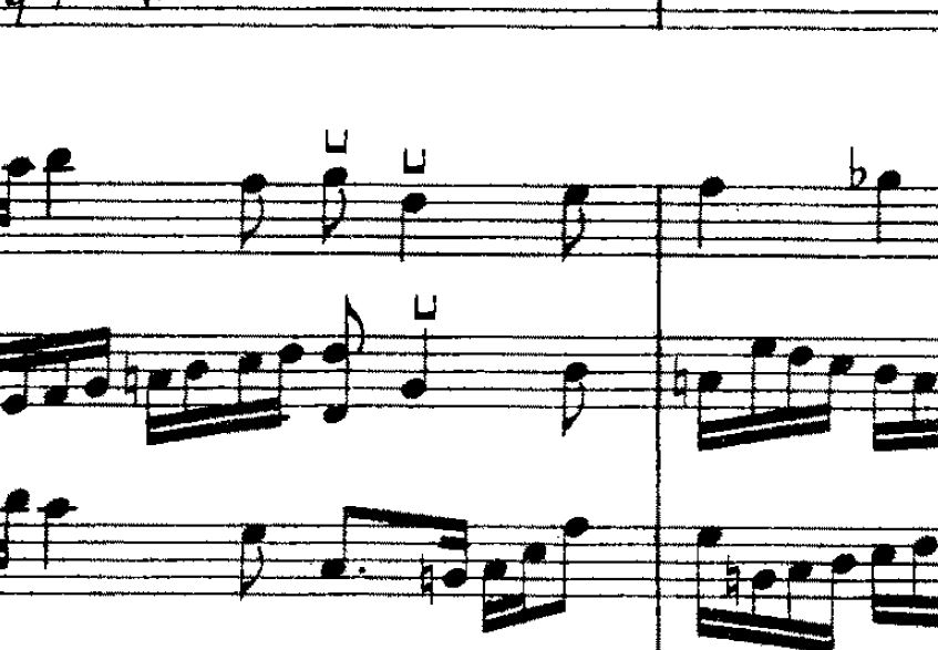 Bow Up Symbol For Violin Musescore