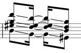 Sklouznutí akordu