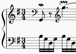 Clef changes
