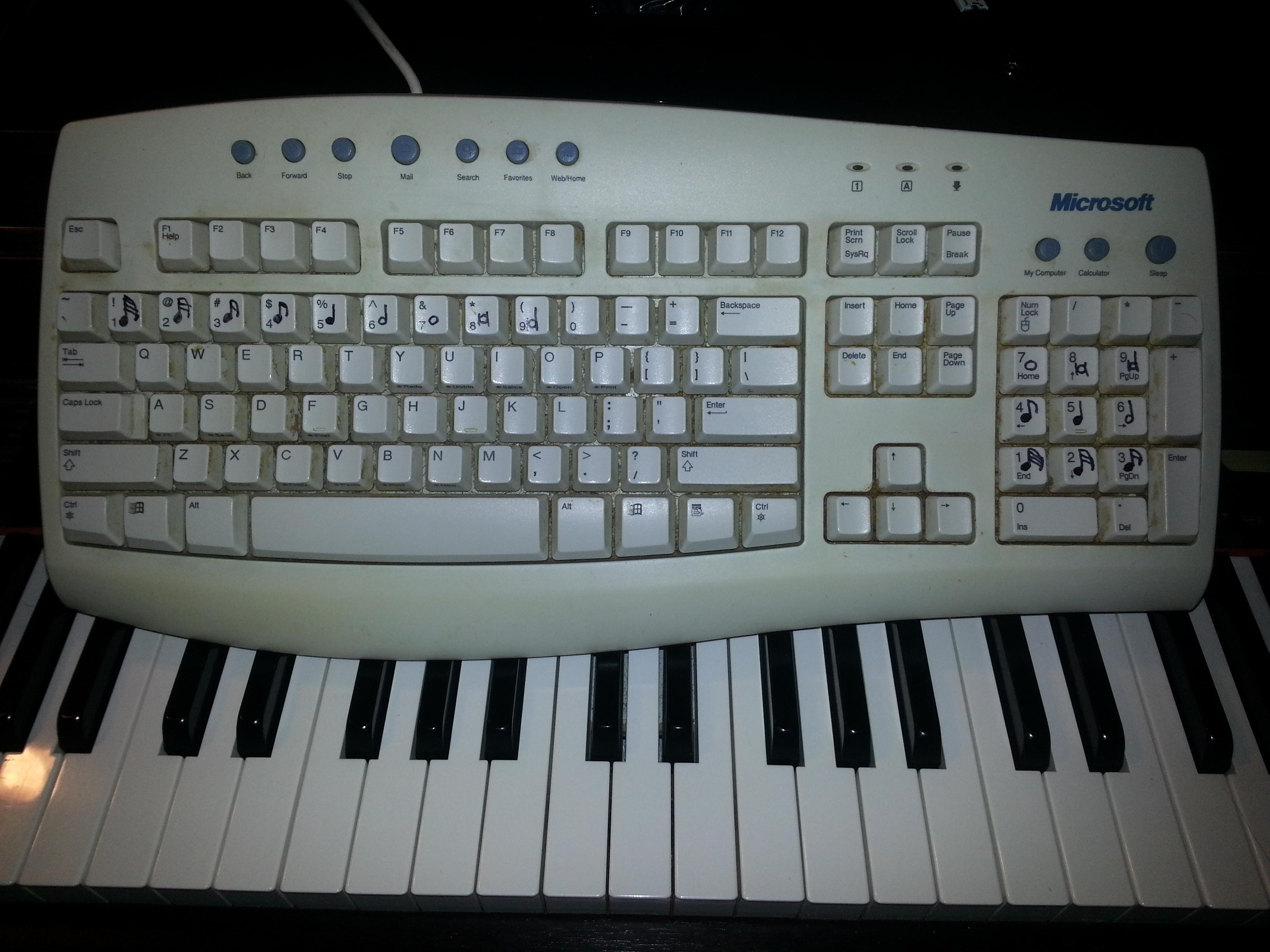 MuseScore Keypad | MuseScore