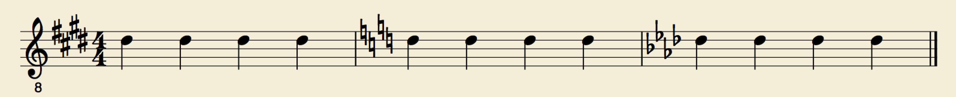 musescore how to change key