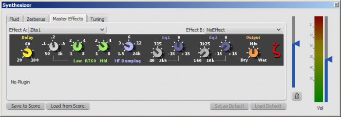 Master Effects in Synthesizer