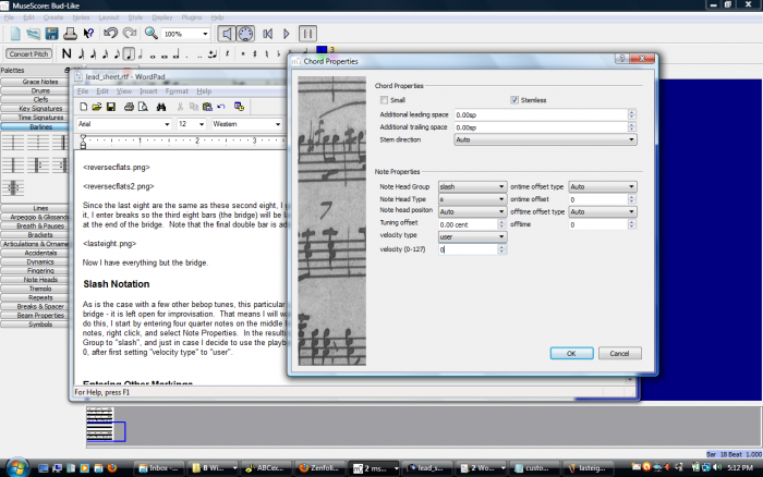 musescore how to add measures