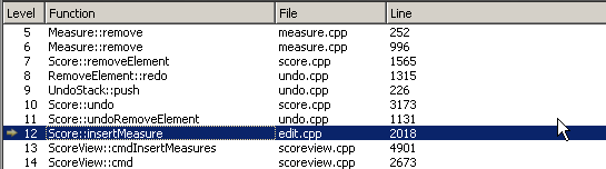 how to delete measures in musescore