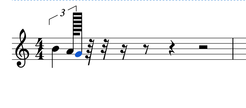 Broken 128th Triplet Rests Support 256th 512th And 1024th Notes