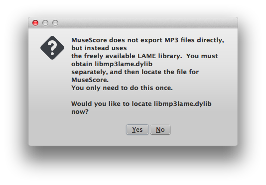 how to change musescore to mp3