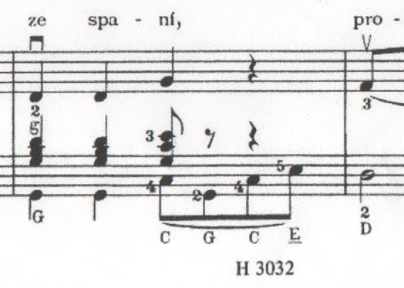 Underline Chord Name Musescore