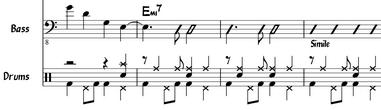 Jazzový notový zápis