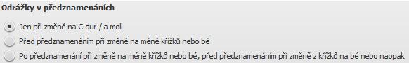 Dialog: Styl/Obecné.../Posuvky