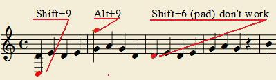 how to change quarter rest to full rest musescore