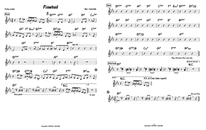 New Jazz Lead Sheet Features In Musescore 11 Musescore