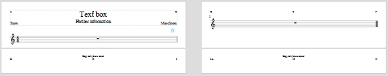 how to add text to musescore