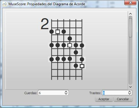 Fretboard Diagram Extension Musescore