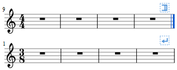 Example of use of section break