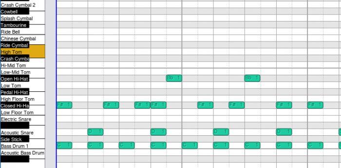 Drum Roll Editor
