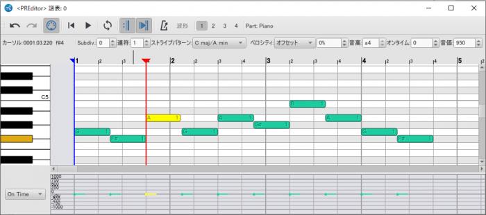 Piano Roll Editor