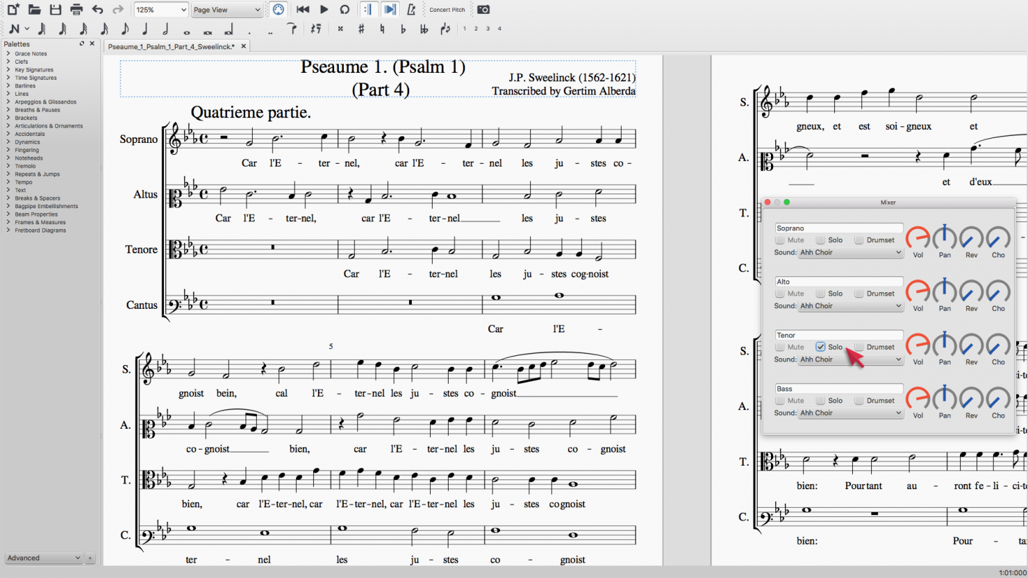 Musescore For Choir Musescore