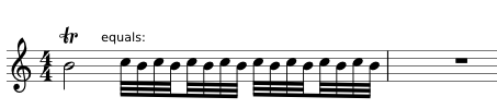 trill and turn implementations | MuseScore